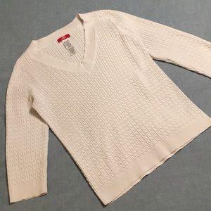Anne Klein Sport cream sweater
